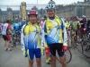 Gérard et Alain au départ de Fontainebleau