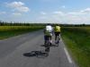Michel et Patrice sur la route du retour