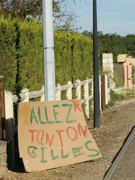 Allez Tonton Gilles à Tacquoignières