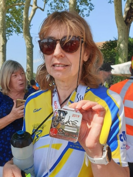 2019-08-22 Dominique médaillée