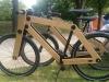 Vélo en bois venus d'ailleurs