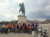 CTVS et ACV devant le chateau de Versailles