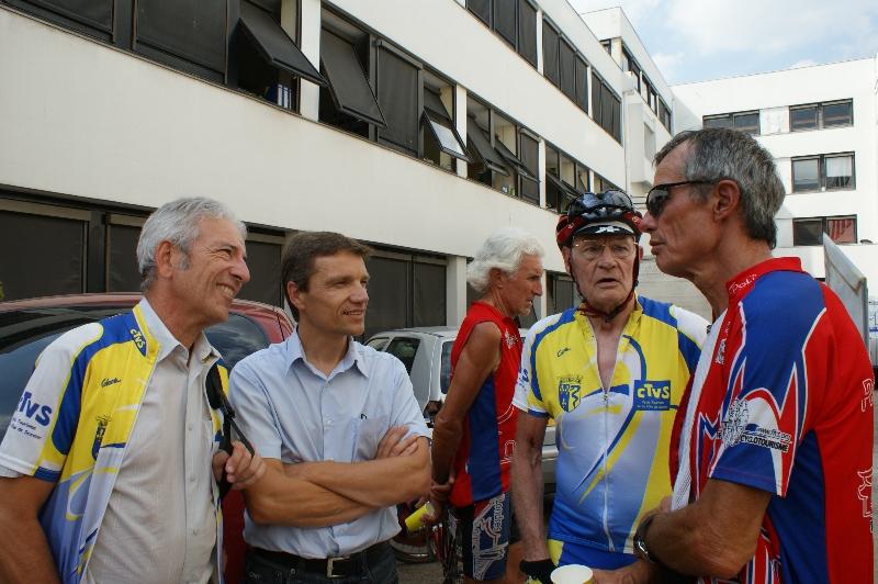 Gilles, ???, Claude et Alain